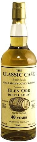 Glen Ord Classic Cask 40 Year Old Single Malt